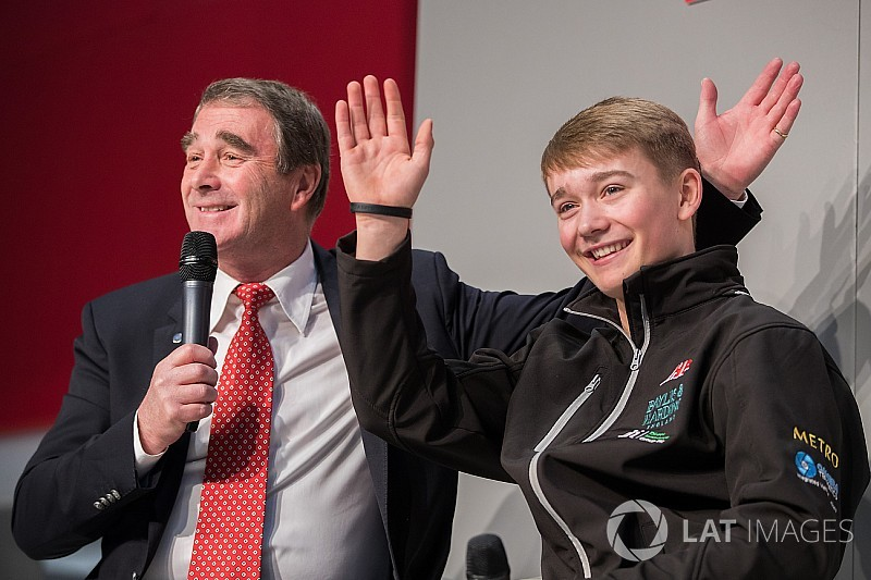 Video: Billy Monger meets Nigel Mansell at ASI 2018