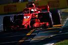 Formula 1 Melbourne, Libere 3: Vettel svetta con le slick dopo il bagnato