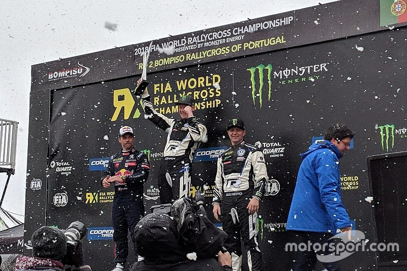 World RX Portugal: Bersalju, Kristoffersson menangi babak final