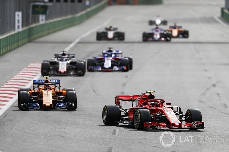 F1 ficará 1s5 mais lenta com pacote aerodinâmico de 2019