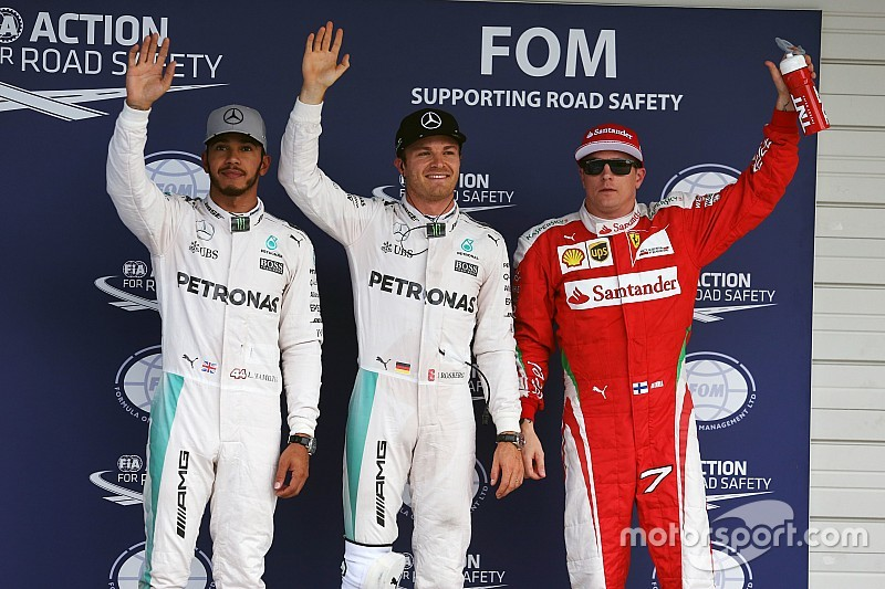 Formel 1 in Suzuka: Nico Rosberg ganz knapp auf Pole-Position