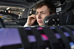 NASCAR XFINITY Interview Brandon Jones enjoying a