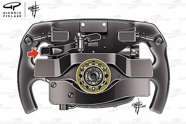 Fórmula 1 Análisis La misteriosa leva del volante de Vettel