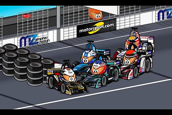 Vídeos: el ePrix de Hong Kong 2017/2018 de Fórmula E, por 'MinEDrivers'