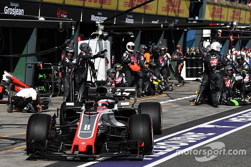 Haas refuerza su trabajo en las paradas en boxes para Australia