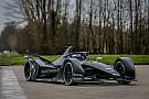 Fórmula E El nuevo monoplaza de Fórmula E rueda por primera vez
