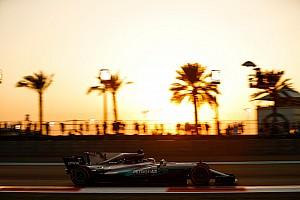 Formel 1 Reaktion Nur vom Eisschrank abzukühlen: Hamilton brennt in Abu Dhabi