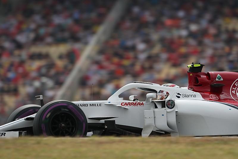 Leclerc a Német Nagydíjon is bejutott a Q3-ba a Sauberrel