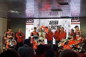 WSBK Noticias de última hora El equipo Ducati del WorldSBK se presenta en el año del adiós al motor bicilíndrico