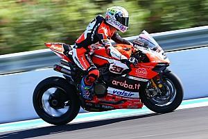 World Superbike Practice report FP3 WorldSBK Spanyol: Melandri bawa Ducati teratas