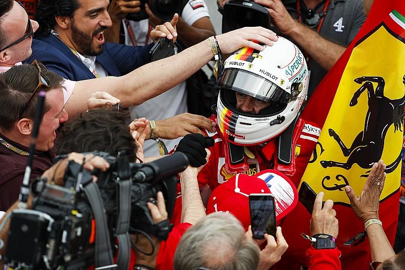 Vettel nyerte a Kanadai Nagydíjat a Ferrarival, és átvette a vezetést a bajnokságban