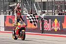 MotoGP Marquez se la ride: