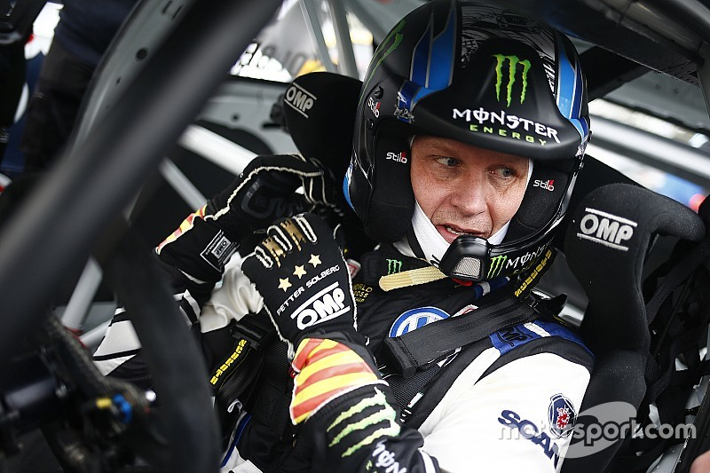 Belgium World RX: Solberg ahead on Day 1 despite damage