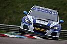 Champion Sutton tops Thruxton BTCC test