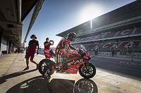 Barcelona Superbike testi: Rea lider, Toprak kaza yaptı