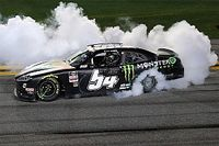 Ty Gibbs wins wild Daytona Road Course race in Xfinity debut