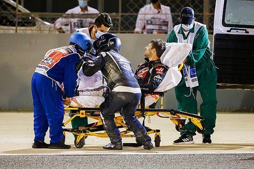 F1: Grosjean deve receber alta do hospital na terça após acidente no Bahrein