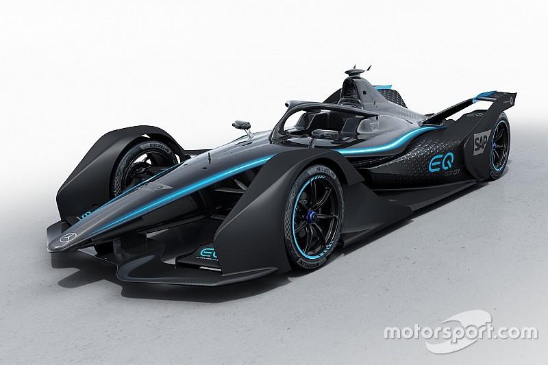 Mercedes desvela una decoración prototipo para la Fórmula E