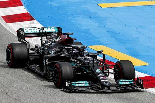 F1: Hamilton questionou se faria parada que rendeu vitória na Espanha e agradece confiança da Mercedes