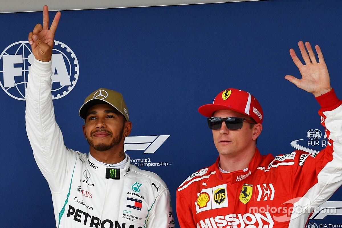 美国大奖赛排位赛:汉密尔顿当仁不让拿下杆位,维特尔将从第五发车