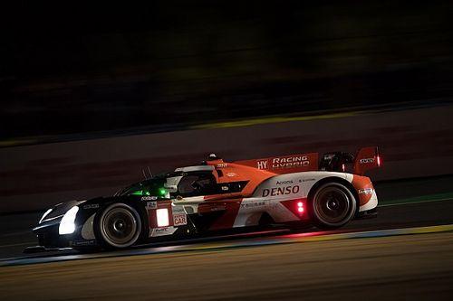 Le Mans 24h, H8: Toyota extends 1-2 lead, trouble for Alpine