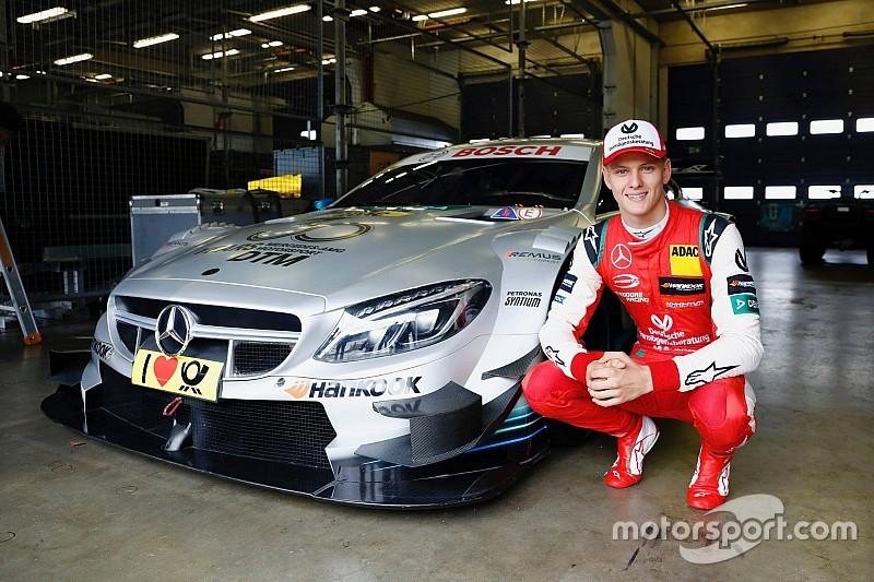 Галерея: Мік Шумахер за кермом машини DTM