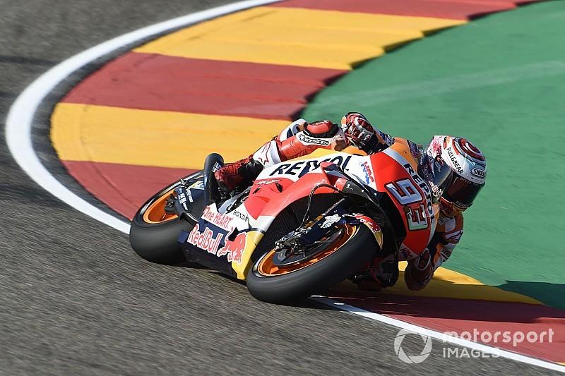 Aragon MotoGP 2. antrenman: Marquez lider, Lorenzo ikinci