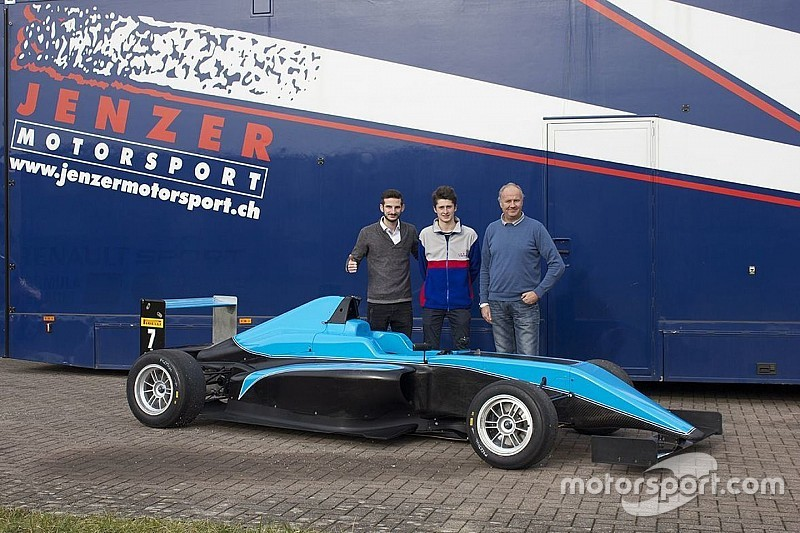 Giacomo Bianchi in Formula 4 con la Jenzer Motorsport