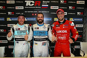 TCR Qualifying report Sochi qualifying – First pole for Comini and Volkswagen