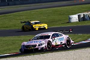 DTM Verslag vrije training DTM Lausitzring: Auer troeft Wickens af in tweede training