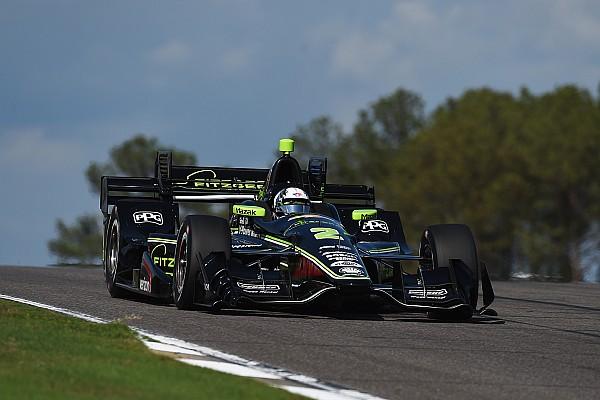 Newgarden brilha e vence primeira pela Penske; Hélio é 4º