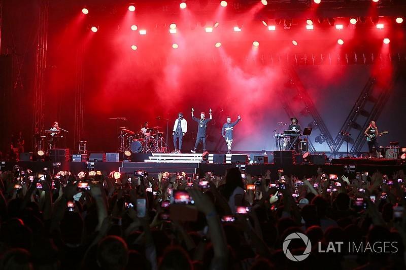 Bruno Mars ve Britney Spears, Amerika GP hafta sonunda konser verecek