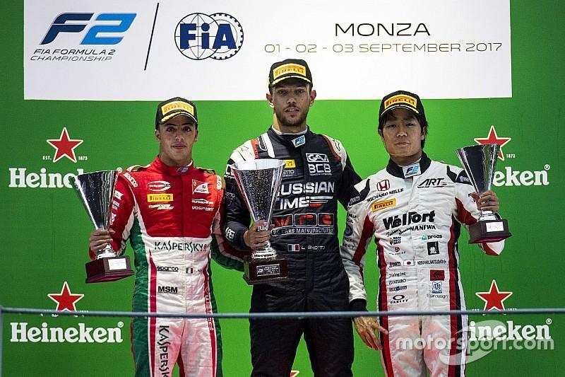 Feature Race F2 Italia: Ghiotto curi kemenangan dari Leclerc/de Vries