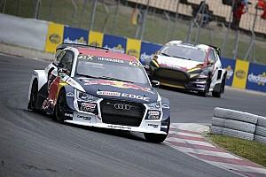 World Rallycross Résumé de qualifications Kristoffersson brille mais Heikkinen mène après deux manches