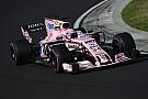 F1 Force India probará en Yas Marina con Perez, Ocon y Mazepin