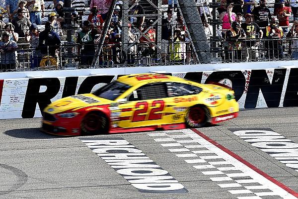 NASCAR Cup NASCAR in Richmond: Joey Logano erhält harte Strafe