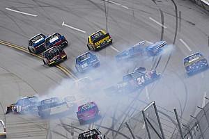NASCAR Truck Breaking news Nemechek narrowly escapes elimination from Truck playoffs at Talladega