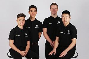 Formule 1 Actualités Qui sont les pilotes de la Renault Sport Academy 2017?