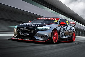 Supercars Breaking news New Commodore Supercar to run V8 engine in 2018