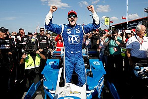 IndyCar Репортаж з гонки IndyCar у Мід-Огайо: Ньюгарден здобув переконливу перемогу та лідирує у заліку
