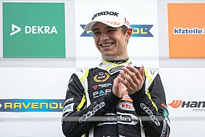 F3 Europe Race report Spa F3: Norris overcomes grid penalty to win final race