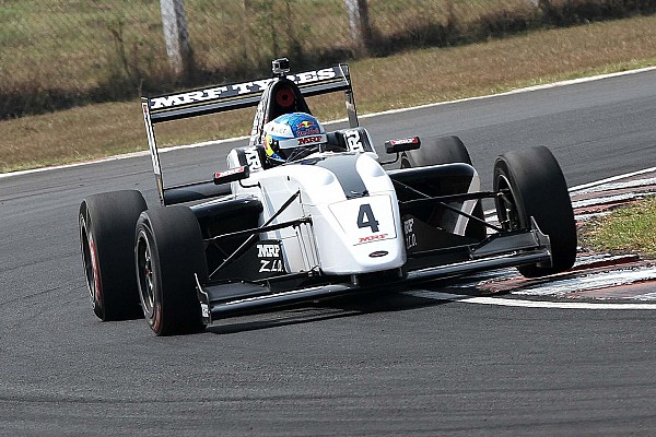 Indian Open Wheel Chennai MRF Challenge: Newey takes lights-to-flag win in Race 1