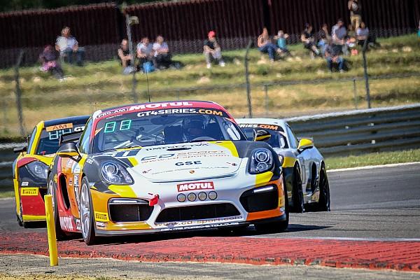 GT4 European Series Résumé de course Speed Car et CD Sport ouvrent le nouveau Championnat de France de GT