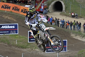 Mondiale Cross Mx2 Qualifiche Thomas Kjer Olsen vince la sua prima qualifica in Trentino
