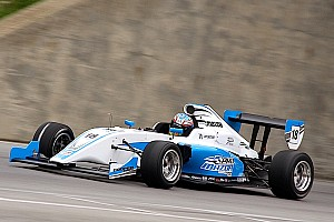 Pro Mazda Breaking news New Pro Mazda Tatuus completes successful first test