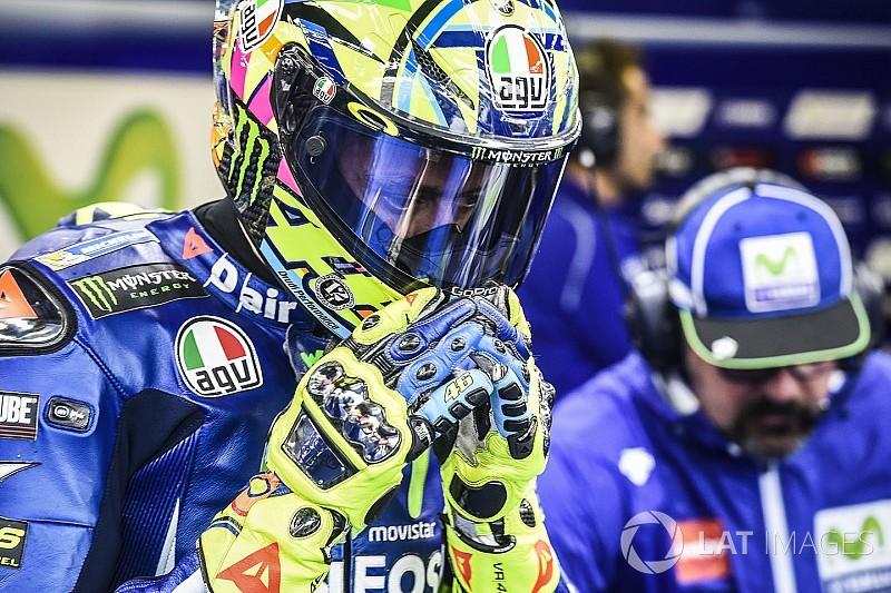 """Pas assez rapide sous la pluie, Rossi admet """"une grande frustration"""""""