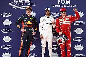 La parrilla de salida del GP de Malasia de F1 2017 en imágenes