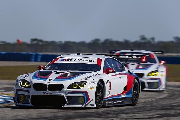 12h Sebring: BMW mit dem M6 auf Platz 6 und im Reifenstapel