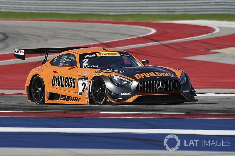Austin PWC: Dalziel and Morad drive CRP Mercedes to SprintX win