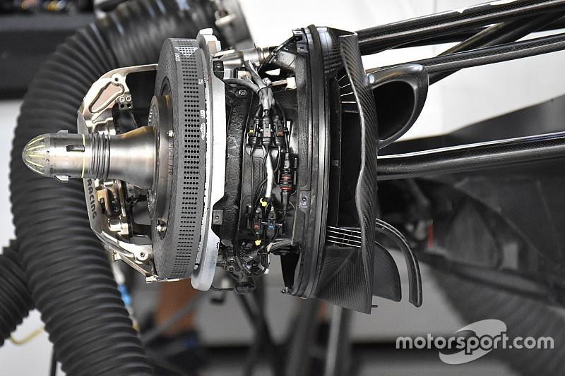 Williams: dischi solo con cinque fori, Silverstone non impegna i freni